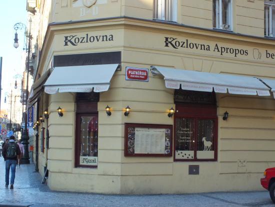 ... на хлебе - Picture of Kozlovna Apropos, Prague - TripAdvisor
