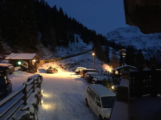 Hotel Alm-Ferienclub Silbertal: Aften