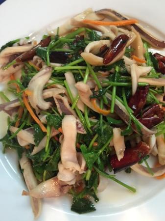 Le Restaurant Chinois : Salade de poulpe