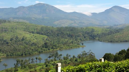 Elysium Garden Hill Resorts: On route from Munnar to Thekaddi