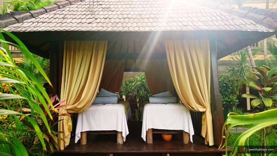 Hotel Vila Lumbung: Outdoor spa