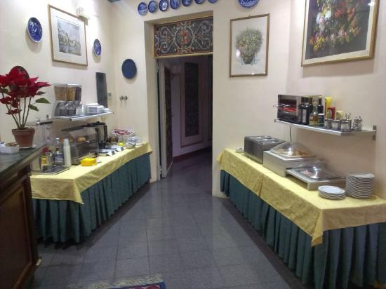 Hotel Villa Romeo: Завтрак