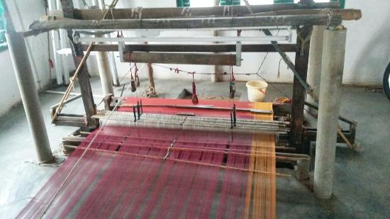 Kanadukathan, Inde : Sri Mahalakshmi Handloom Weaving Centre