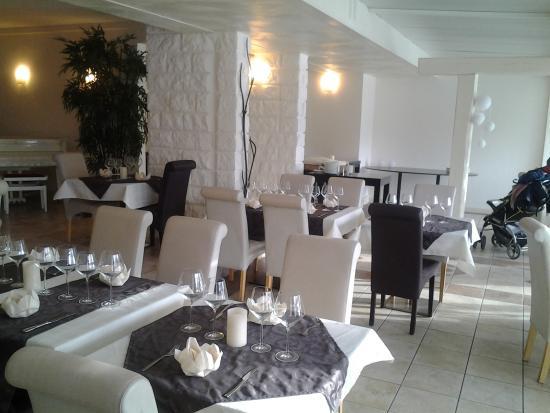 Restaurant L'Amadeus : la salle élégante