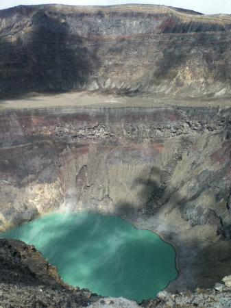 Santa Ana Volcano: The caldera