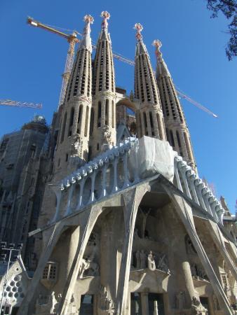 Gaudi Buildings Collage - Picture of Basilica of the Sagrada Familia, Barcelo...
