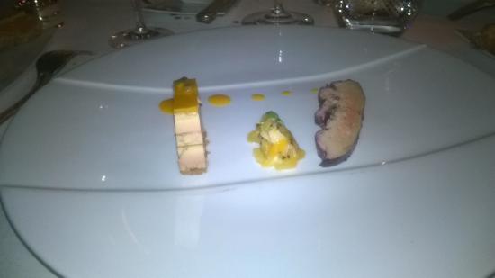 Monbazillac, Γαλλία: foie gras