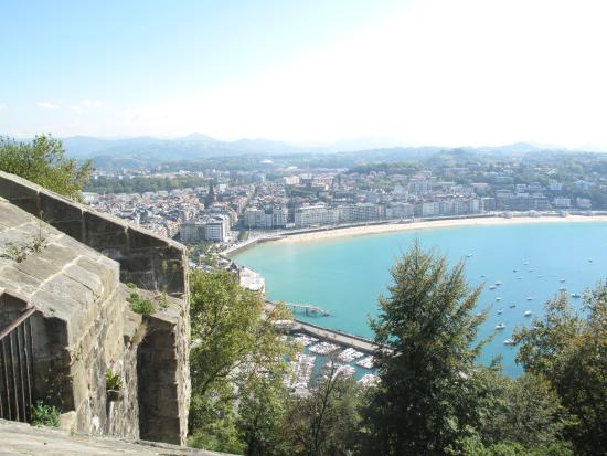 Hotel Niza: Views from San Telmo (statue climb)