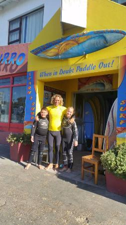 Wavecrest Surf School: Andrew and the Kids