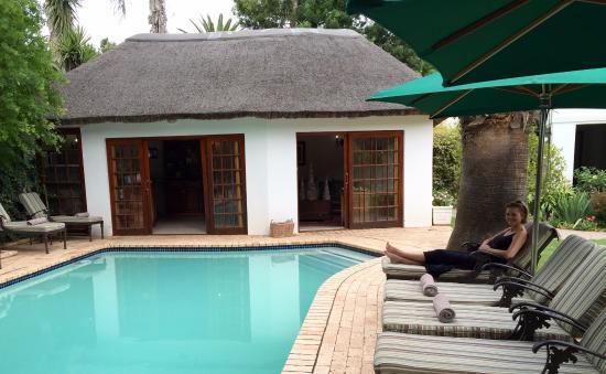Addo, Afrika Selatan: Receptie en zwembad