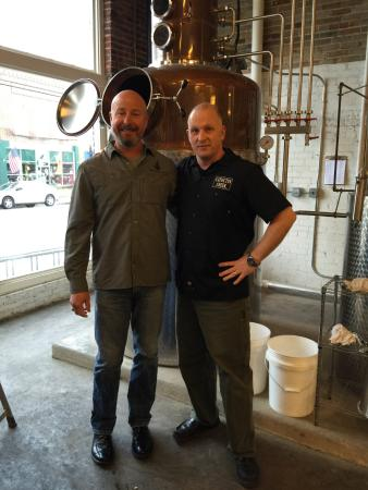 Purcellville, VA: A Visit with Catoctin Creek Distillery's Scott Harris