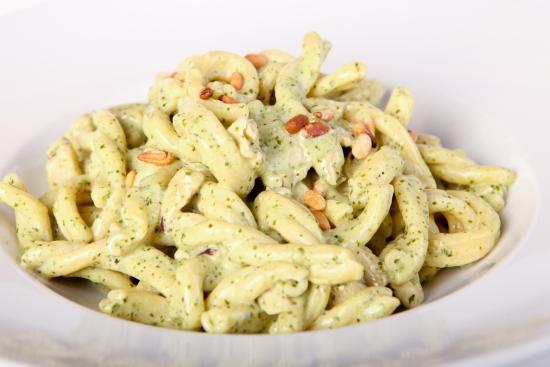 pestokyckling med pasta