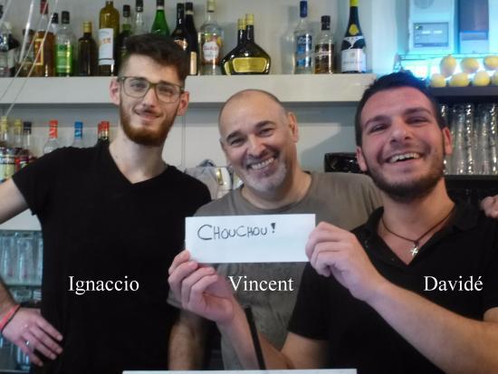 Limonest, Франция: le trio SUPER accent italien sourire service impécable attentionné etc......