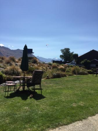 Clearbrook Motel Wanaka: View from room 2