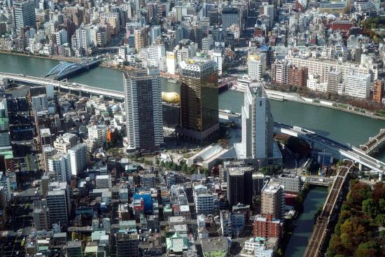 Tokyo Skytree: Tokyo  incredible panoramic views