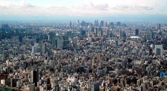 Tokyo Skytree: Skytree View on Tokyo