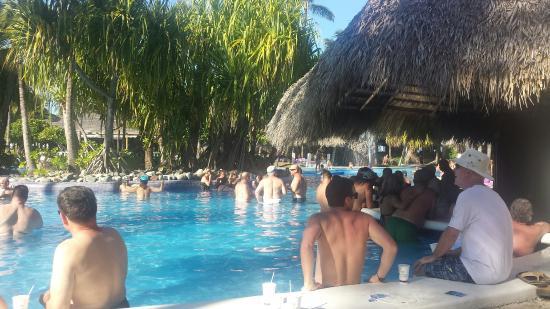Paradisus Punta Cana: pool bar