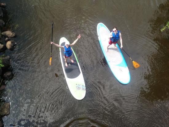 Eagle River, WI: SUP FUN