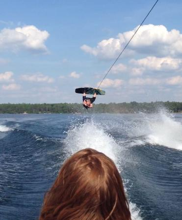 Eagle River, WI: Wakeboarding