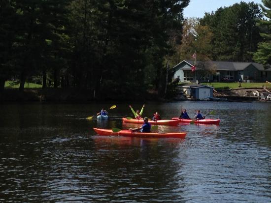 Eagle River, WI: Kayaking
