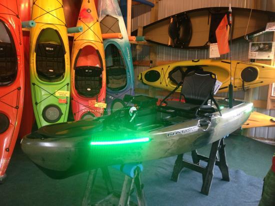 Eagle River, WI: Custom set ups for your kayak!