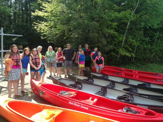 Eagle River, WI: Outdoor ED. classes