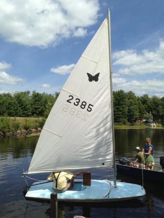 Eagle River, WI: Sailboats