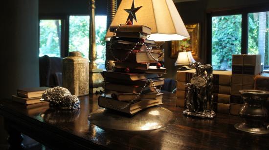 Modimolle (Nylstroom), Sør-Afrika: 03 A book Christmas tree