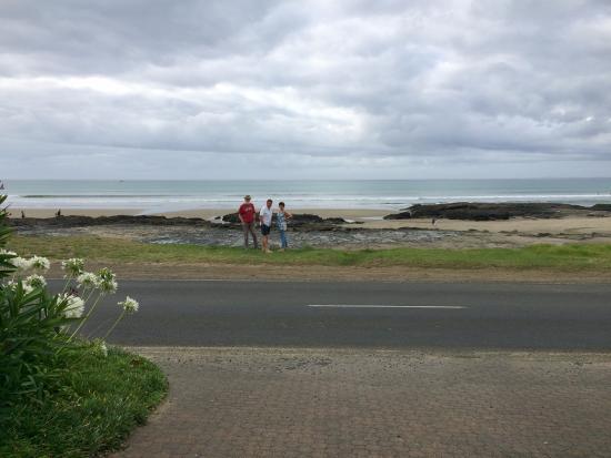 Ahipara, Νέα Ζηλανδία: The beach across the road