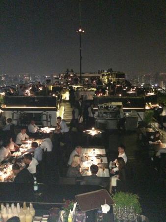 Vertigo Grill and Moon Bar: Restaurant