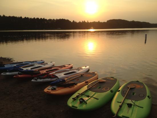 Eagle River, WI : Twilight trips unforgettable Sunsets