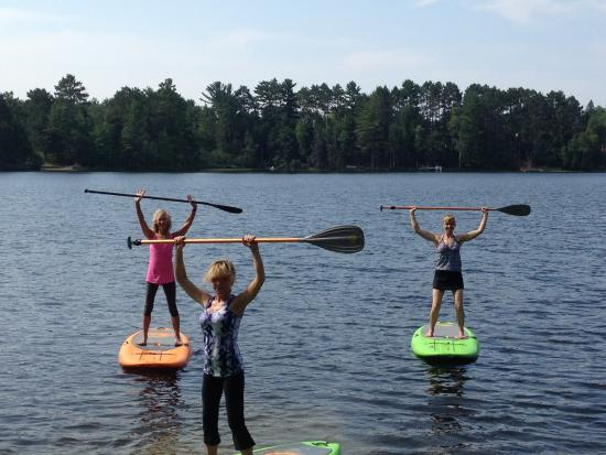 Eagle River, WI: SUP Fittness