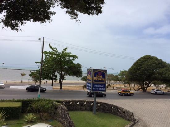 BEST WESTERN Shalimar Praia Hotel: Vista do apartamento