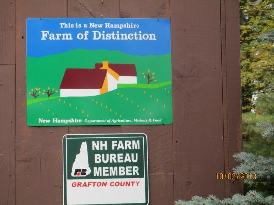 "Haverhill, NH: Windy Ridge is a ""Farm Of Distinction"""