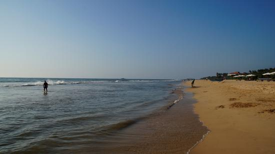 Bentota, Sri Lanka: Blick nach rechts