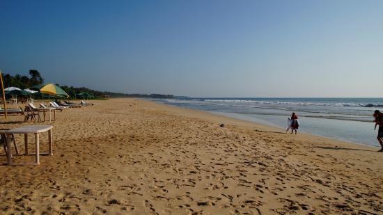 Bentota, Sri Lanka: Blick nach links