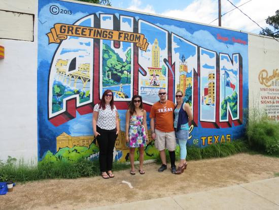 Famous austin postcard mural picture of access atx tours for Austin mural tour