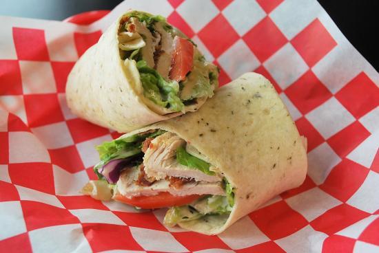 Detroit Ham & Corned Beef Co. : TURKEY RANCH BLT WRAP