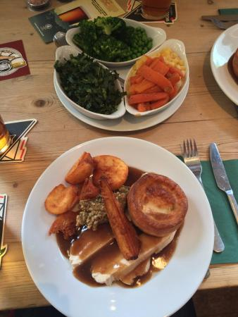 Foresters Arms: Perfect rendition of a classic pub lunch