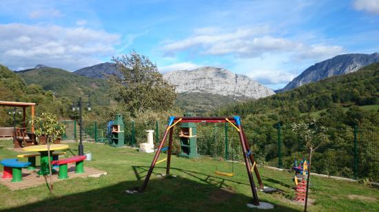 Apartamentos Rurales Balcón Real: Jardín