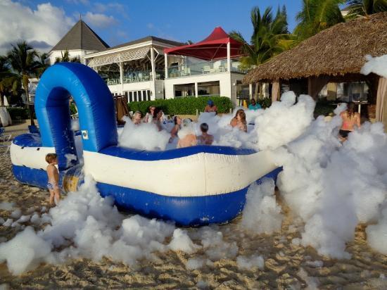 beach foam party picture of azul beach resort negril by karisma rh tripadvisor ca
