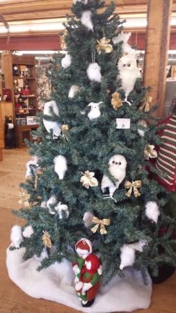 French River Trading Post: tree ornorments 4sale