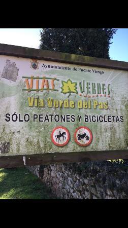 Puente Viesgo, Spain: Via verde del Pas
