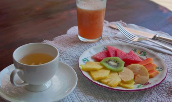 Kenaki Lodge: Nuestro desayuno