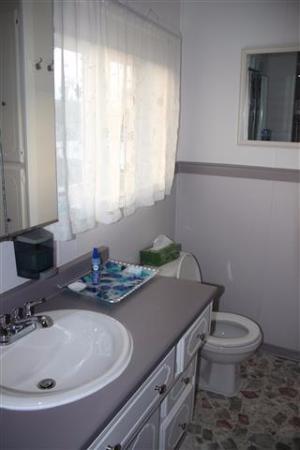 La Scie, Canadá: bathroom