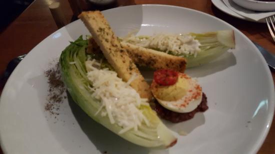 Beaufort, NC: Aqua Caesar's Salad
