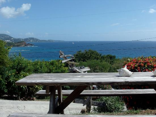 Water Island, St. Thomas: Magnificent view from the Pavilion.