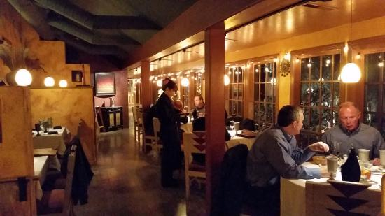 Painted Pony: Dining Areas Throughout The Space Were Great!