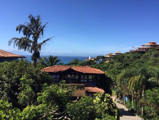 La Pedrera Small Hotel & Spa: view from balcony