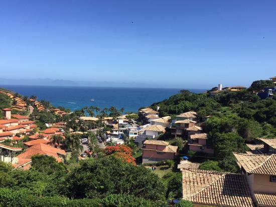 La Pedrera Small Hotel & Spa: view from hotel terrace
